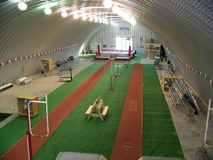 SteelMaster Steel Pole Vaulting Facility