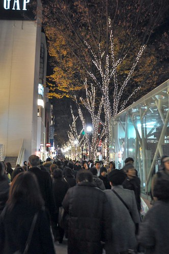 Omotesando shoppers