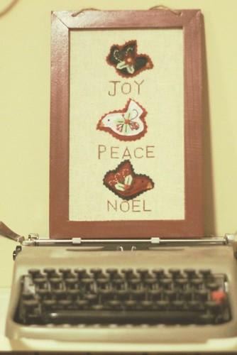 Joy Peace Noel 2009