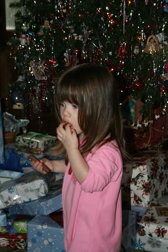 mmmm! chocolate!