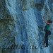 Anouk Piola climbing Arturo Bandini 7a