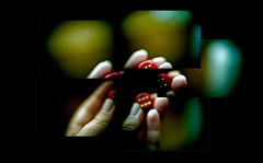 318/365 (Despina K.) Tags: dice photoshop canon hand crossprocess myhand despina  318365    despinak