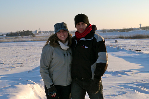 Us in Iowa on New Years Eve