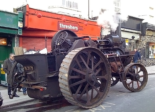 Steam Engine on St. James's Street
