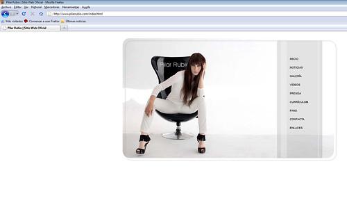 Web oficial de Pilar