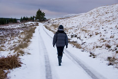 Strathy_Scotland_85 (jjay69) Tags: christmas uk winter england snow cold water scotland frozen highlands frost boots britain freezing wellingtonboots sutherland wellies rubberboots waterproof rockfish warmclothes furhat thickice downjacket icyroad strathy walkingonice northernscotland icytrack womaninwellies standonice