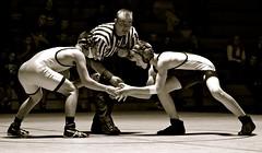 (hought43) Tags: blackandwhite sports team raw mason spotlight holt meet wrestle active neutral
