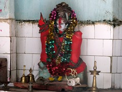 the Lord Shiva (Linda DV) Tags: travel portrait india canon geotagged shiva 2008 sevensisters arunachal 7sisters arunachalpradesh northeastindia daporijo powershots5is lindadevolder meghnacavetemple