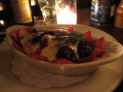 berries gratin
