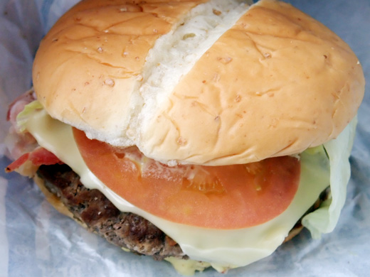 New York Burger from McDonald's