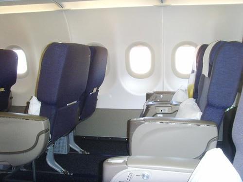 Business Flight Gulf Air Airbus A320 Business Class Seat