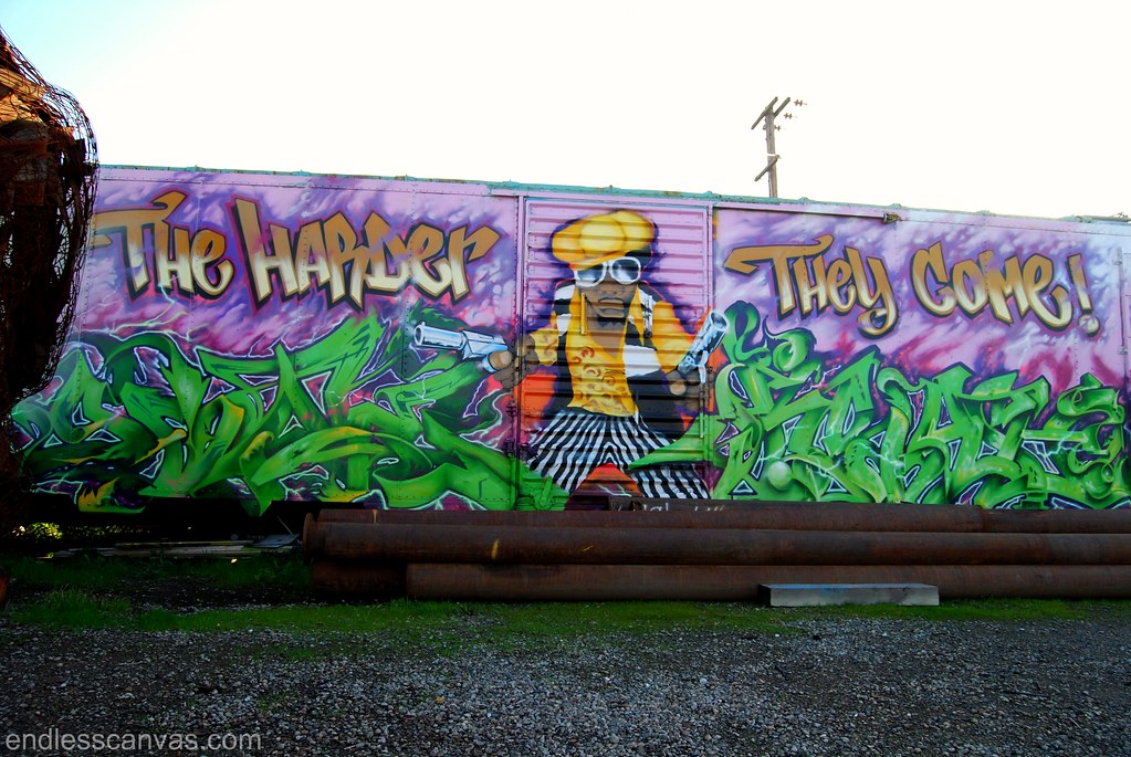 The Harder They Come Graffiti Production in West Oakland.