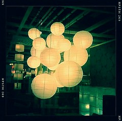 paper lanterns (bunbunlife) Tags: blue light ikea lamp oregon john shopping paper portland lens evening glow display flash cellphone pistil hanging lantern iphone hipstamatic photographyiphoneographyiphonegraphyiphonegrapherlofiapplecameraphoneiphone3gtakenwithaiphone
