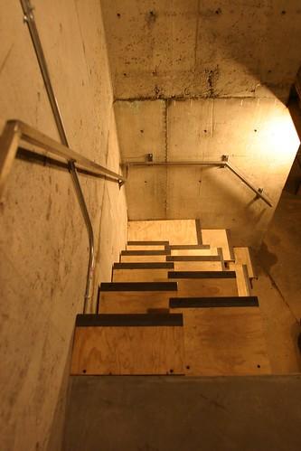 mechanical room stairs