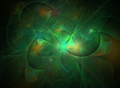 Starshine (Lyle58) Tags: light abstract color green design artwork colorful pattern ethereal fractal dreamy abstraction apophysis fractals dreamlike allrightsreserved lyle58
