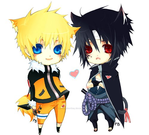 DeviantArt: More Like The Last: Sasuke And Naruto Chibi by xUzumaki
