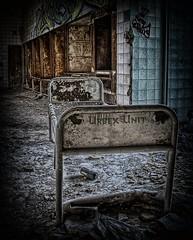 Urbex Unit (Batram) Tags: abandoned hospital germany bed bett decay urbanexploration sanatorium asylum hdr urbex beelitz batram heilstätten veburbexthuringia