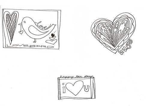 lovebird.color your own valentines