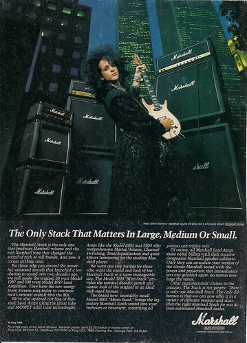 1986 Marshall Amps Ad (WTC Views)