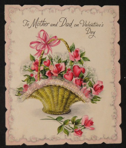 Vintage Valentine's Day Card 011