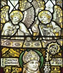 All Saints, Braunston, Rutland (Lord Muttley McFester) Tags: church window glass stainedglass stained kempe charleseamerkempe