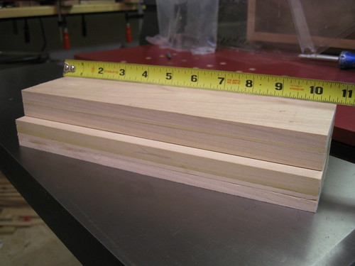 sliding dovetails closed up