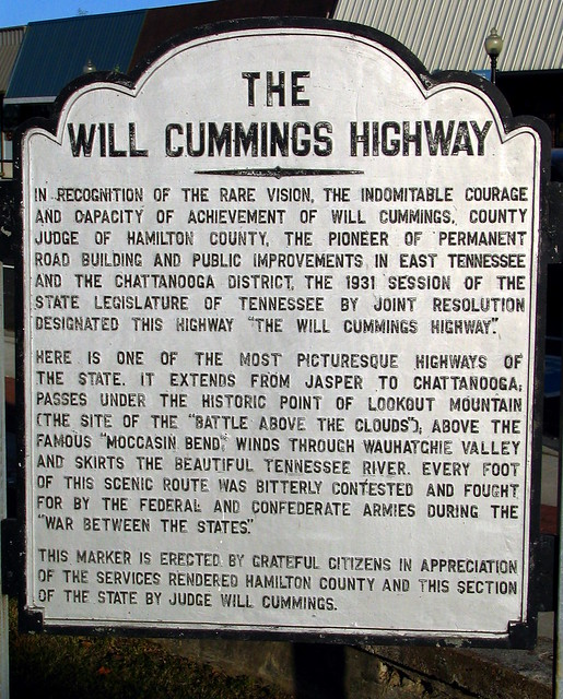 Will Cummins Highway Marker