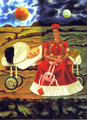 Frida Kahlo - Self-Portrait - Tree of hope, stand fast ! (1946)