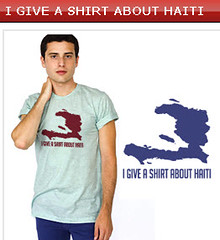 Helping Haiti: do you give a shirt?