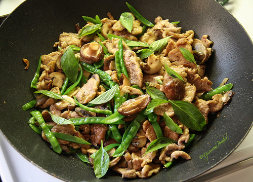 Ginger & Garlic Infused Pork Stir-fry
