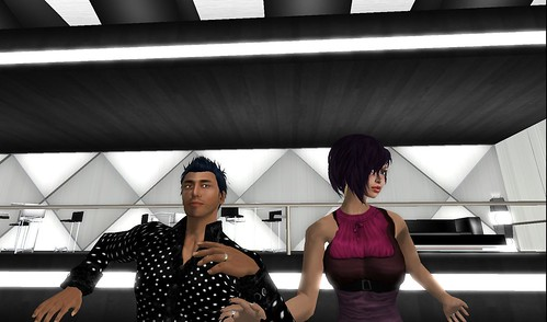 xavier, raftwet at agape club in second life