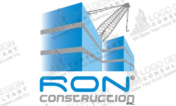 construction logo from logo design consultant