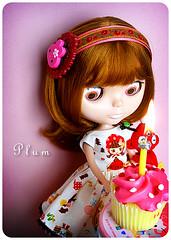 Plum's Fourth Birthday