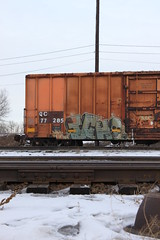 Ichabod (A & P Bench) Tags: railroad canada art train photography graffiti fan steel painted graf stock rail railway trains canadian railcar spraypaint boxcar graff piece ich qc railfan freight rolling ichabod traingraffiti endoftrain freighttrain freights rollingstock eot benched benching freightgraffiti freighttraingraffiti benchers