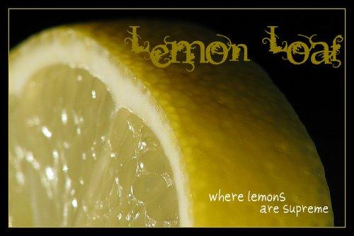 - lemon loaf -