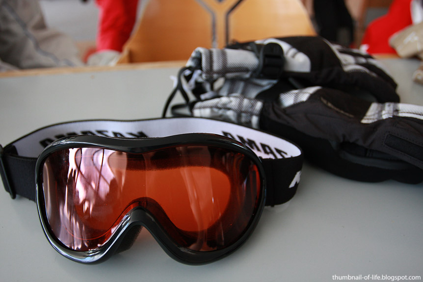 Goggle and Gloves