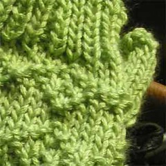 Wristwarmers pattern sneak peek
