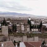 Granada: Muralla zirí (s.XI) y Palacio dar al Horra