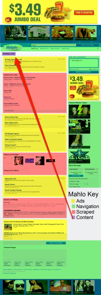 Mahalo & Original Content