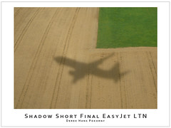Shadow Short Final EasyJet LTN (Derek Hans Pokorny Photography) Tags: shadow london airplane inflight aviation approach luton easyjet ltn shortfinal