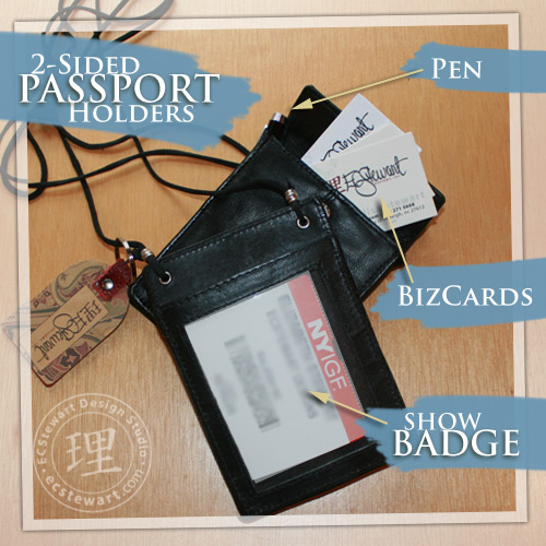 Passport Badges Turned Show Badges