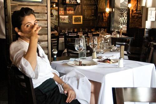 Waitress Who Eats A Lot