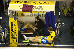 Six Day Race - Massage