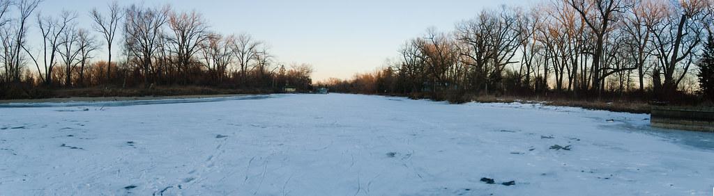 February Toronto Panorama 3 RIVER