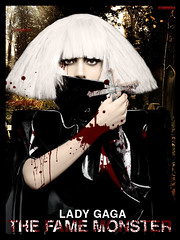 The Fame Monster Cover [Lady GaGa] (Nii Riera) Tags: lady fame gaga mosnter