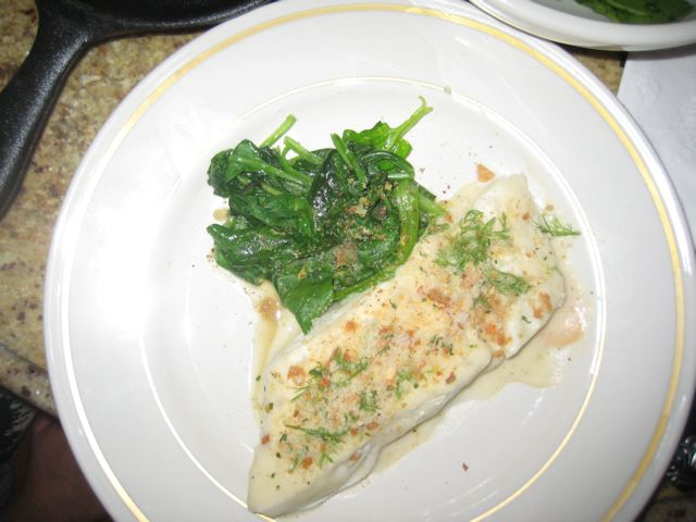 Village Tart halibut