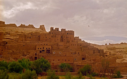 Architettura berbera- Ksar e Kasbah ad AIT BENHADDOU