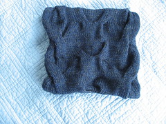 Aran Marl neck warmer