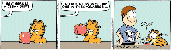 Garfield: Lost in Translation, February 12, 2010
