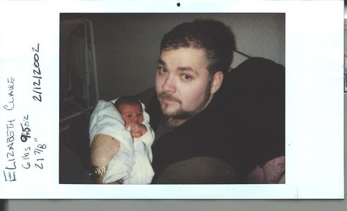 baby E and Uncle Chuck